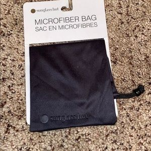 Sunglass Hut Microfiber Bag. Black. Never used.